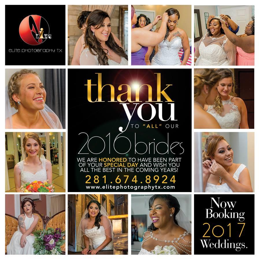 2016 Brides