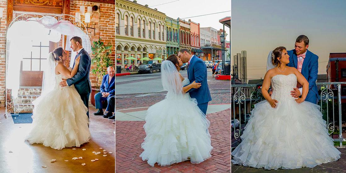 Affordable Houston Wedding Photography: Buccaneer Room Galveston, TX